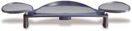Flat panel monitor stand